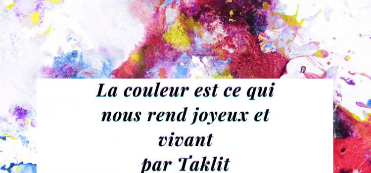 citation sur les couleurs de la joie